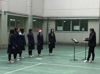 クリスマスミニコンサート1
